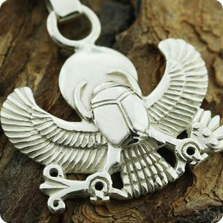Replica Egyptian Scarab of Worn by Tutakhamum Keychain