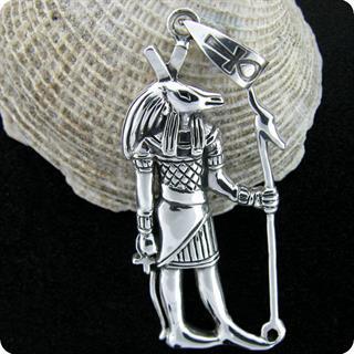 Egyptian Silver Chaos God Seth (Set),Pendant