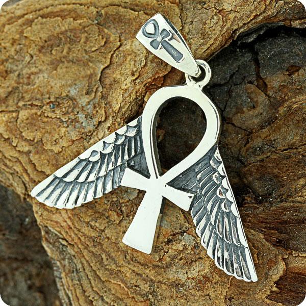 Mojoii Egyptian Jewelry Freedom Ankh Symbol Pendant Mojoii